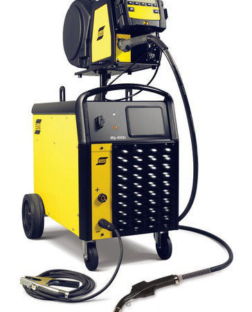 Сварочный выпрямитель с цифровым управлением ESAB Mig 4002с