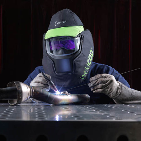 Сварочная кепка (маска) optrel weldCAP bump с защитой от ударов